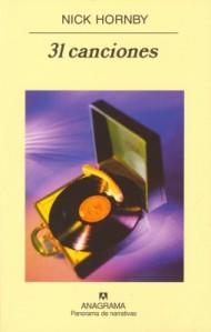 Título:31 canciones - Autor: Nick Hornby - Anagrama