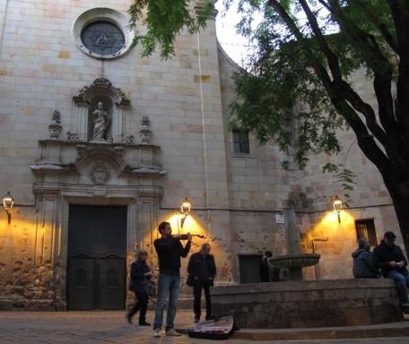 Plaza San Felipe Neri por Juan Antonio Tamez