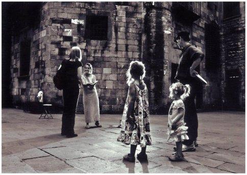Pilar Rodríguez, La Soprano, en el Gotic de Barcelona- Foto: Alejo Correa