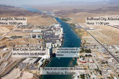 Laughlin, Nevada y Bullhead City, Arizona, USA. Imagen: Antonio Tamez