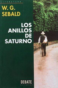 Título: Los anillos de Saturno - Autor: W.G. Sebald - DEBATE