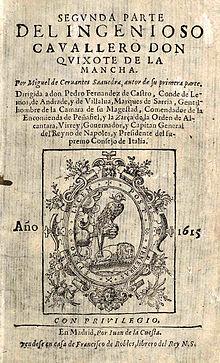 Título: Don Quijote de la Mancha - Autor: Miguel de Cervantes Saavedra