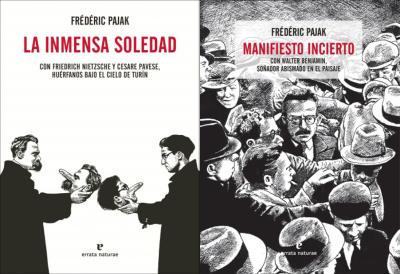 Título: La inmensa soledad y Manifiesto incierto - Autor: Frédéric Pajak – Errata Naturae