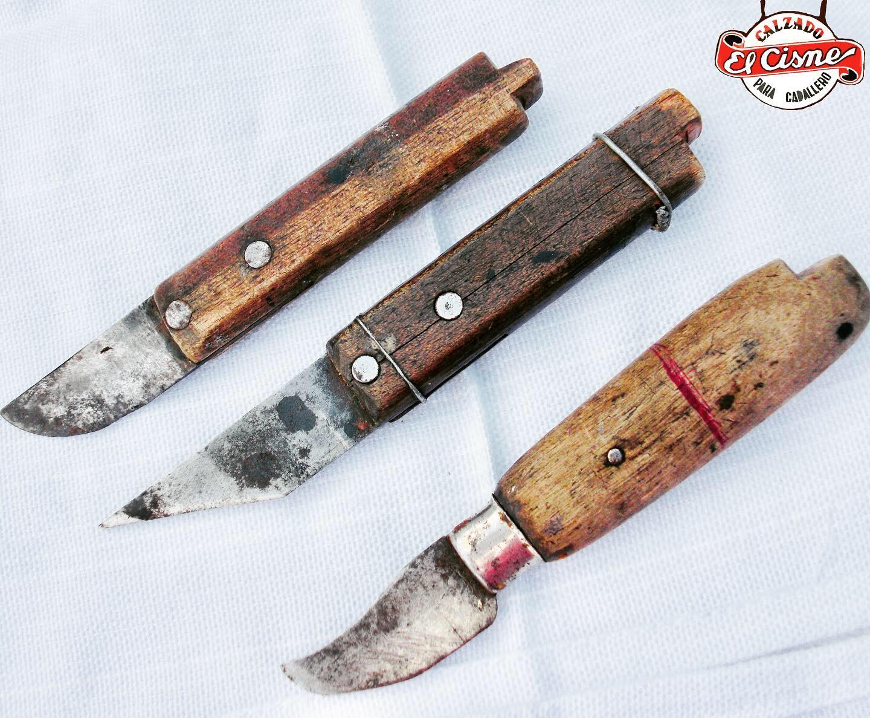 Cuchillos de zapatería El Cisne
